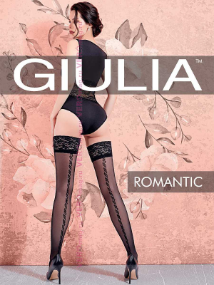 Чулки Giulia ROMANTIC 02 в интернет-магазине VeroMag.RU фото 2