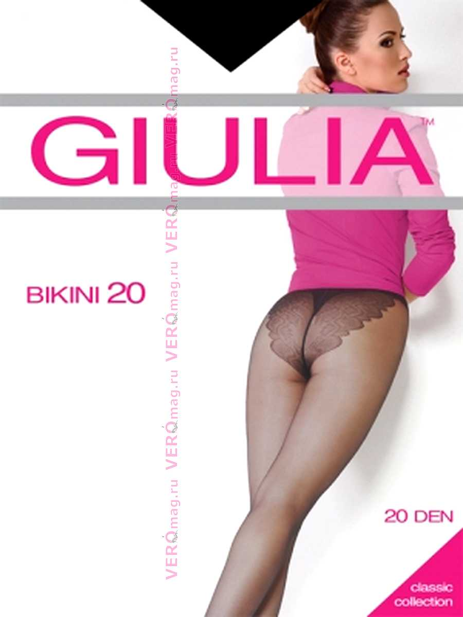 Колготки Giulia BIKINI 20 в интернет-магазине VeroMag.RU фото 3