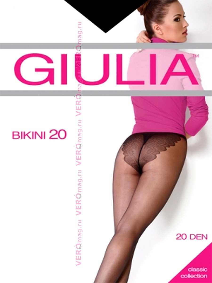 Колготки Giulia BIKINI 20 в интернет-магазине VeroMag.RU фото 4