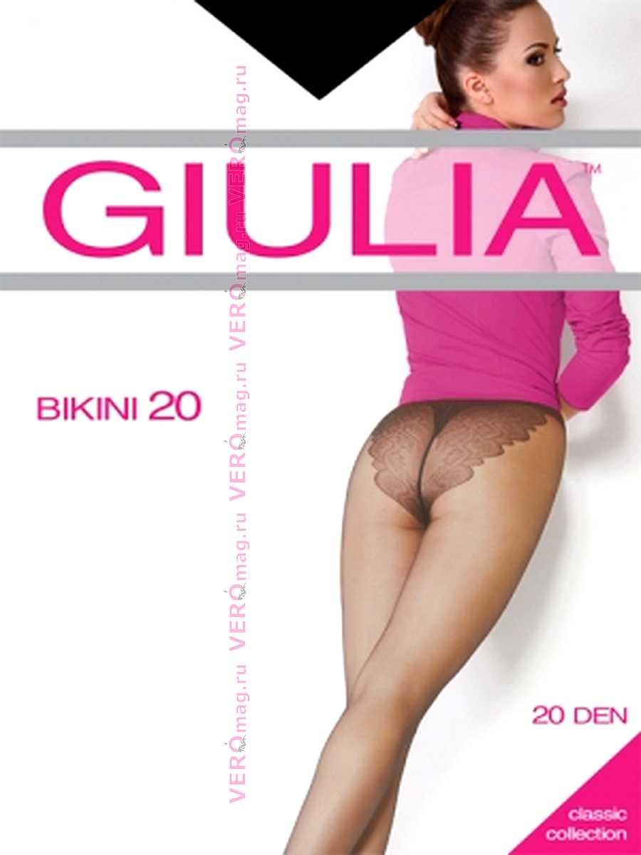 Колготки Giulia BIKINI 20 в интернет-магазине VeroMag.RU фото 5