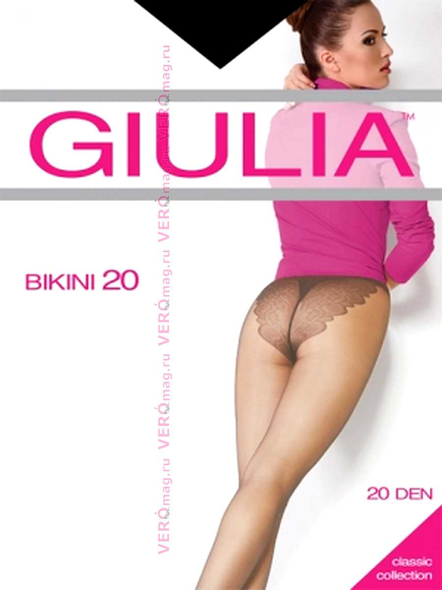 Колготки Giulia BIKINI 20 в интернет-магазине VeroMag.RU фото 7