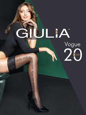 Чулки Giulia VOGUE 01 в интернет-магазине VeroMag.RU фото 1
