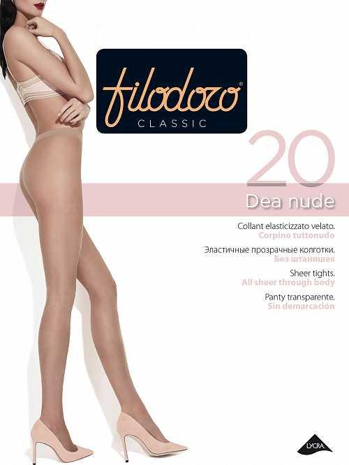 Колготки Filodoro DEA NUDE 20 в интернет-магазине VeroMag.RU фото 1