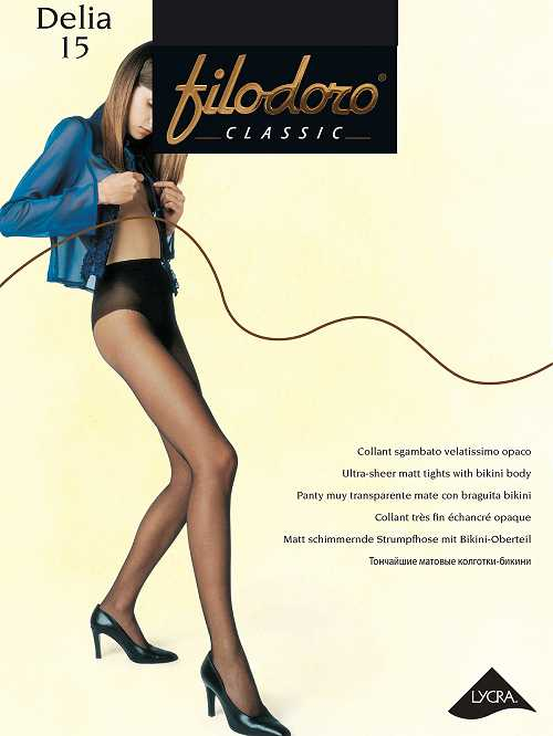 Колготки Filodoro DELIA 15 в интернет-магазине VeroMag.RU фото 1