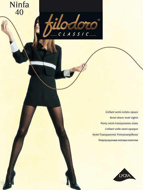 Колготки Filodoro Classic NINFA 40 в интернет-магазине VeroMag.RU фото 1