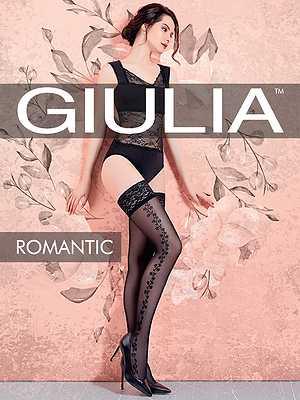 Чулки Giulia ROMANTIC 01 в интернет-магазине VeroMag.RU фото 1