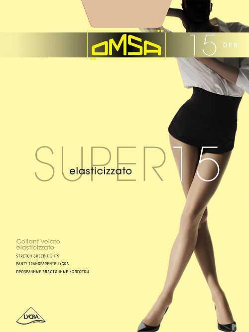 Колготки Omsa SUPER 15 в интернет-магазине VeroMag.RU фото 1