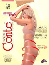 Колготки женские Conte elegant ACTIVE SOFT 40