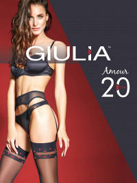 Чулки Giulia AMOUR 02