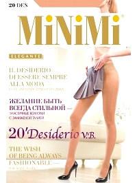 Колготки Minimi DESIDERIO 20 VITA BASSA