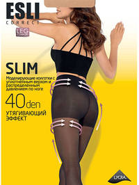 Колготки женские ESLI SLIM 40