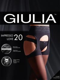 Колготки Giulia IMPRESSO LOVE 20 упаковка