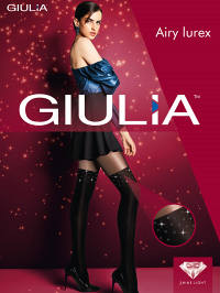 Колготки Giulia AIRY LUREX 01