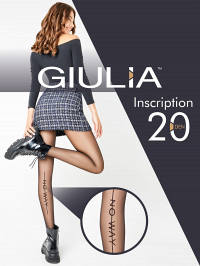 Колготки Giulia INSCRIPTION 01