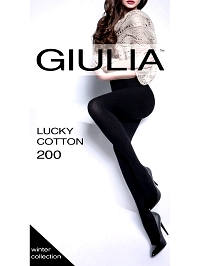 Колготки Giulia LUCKY COTTON 200