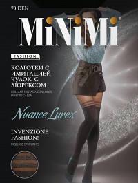 Колготки Minimi NUANCE LUREX 70