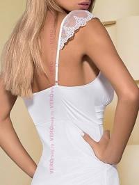 Сорочка до щиколоток Obsessive Feelia Gown бретели
