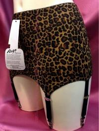 Rago ( 3184 ) Пояс Корректирующий для чулок леопард
