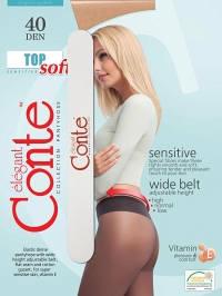Колготки женские Conte elegant TOP SOFT 40 (с пилочкой для ногтей)