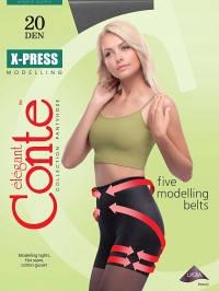 Колготки женские Conte elegant X-PRESS 20 XL